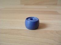 Pot de fleur bleu