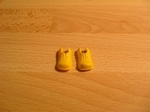 Chaussures de clown jaunes