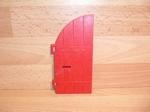 Porte gauche rouge