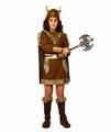 Deguisement costume Guerrière Viking 7-9 ans