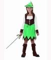 Deguisement costume Fille des bois 5-6 ans