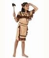 Deguisement costume Indienne Guerrière  5-6 ans