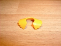 Col dentelle jaune Neuf
