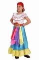 Deguisement costume Gitane Tzigane 5-6 ans