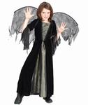 Deguisement costume Sorcière ailes toile araignée 4-6 ans