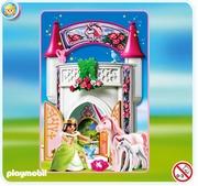 Playmobil Donjon de la licorne transportable