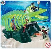 Playmobil Squelette de baleine avec pirates fantômes 4803