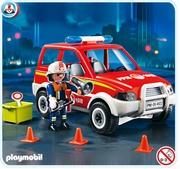 Playmobil Voiture de pompier 4822