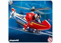 Playmobil Hélicoptère de pompier 4824