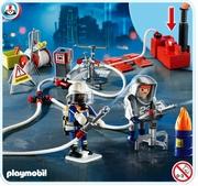 Playmobil Pompiers et matériel d'incendie 4825