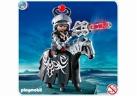 Playmobil Chevaliers dragon rouge et lance lumineuse 4841