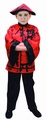 Deguisement costume Chinois rouge 7-9 ans