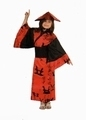 Deguisement costume Chinoise rouge 10-12 ans