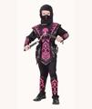 Deguisement costume Ninja rouge 7-9 ans