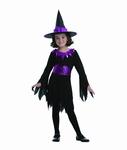 Deguisement costume Sorcière violette 7-9 ans