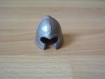 Casque chevalier argenté Neuf