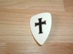 Bouclier croix noire neuf