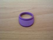 Casquette visière violette Neuve