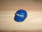 Casquette policier bleue Neuve