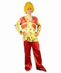 Deguisement costume Hippie homme fleurs