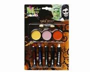 Maquillage 5 crayons et palettes 3 couleurs