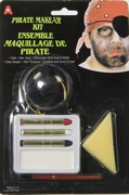 Maquillage pirate ou halloween