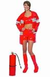 Deguisement costume Pompier Femme sexy