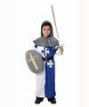Deguisement costume Chevalier et bouclier 7-9 ans