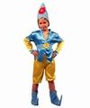 Deguisement costume Lutin elfe bleu 7-9 ans