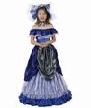 Deguisement costume Dame du Sud Scarlett 7-9 ans