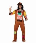 Deguisement costume Hippie homme paix
