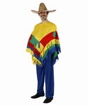 Deguisement costume Mexicain poncho