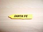 Panneau indicateur Santa Fe