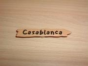 Panneau indicateur Casablanca