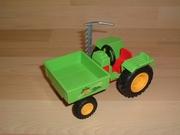 Tracteur maraicher avec faux