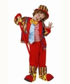 Deguisement costume Clown rouge 7-9 ans