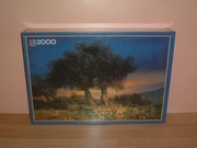 Puzzle 2000 pièces Oliviers Neuf