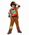 Deguisement costume Hippie peace and love 10-12 ans