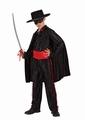 Deguisement costume Bandit masqué zorro 7-9 ans