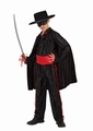 Deguisement costume Bandit masqué zorro 5-6 ans