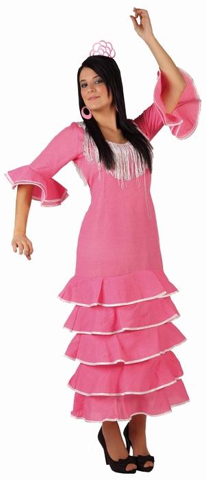 Deguisement Costume Adulte Danseuse Espagnole Flamenco